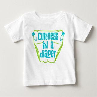 Cuteness in a Diaper Baby Shirt