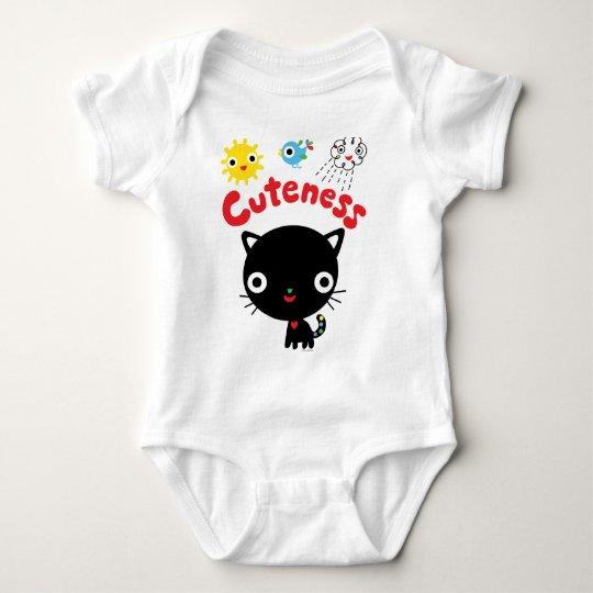 Cuteness Kitten Baby Bodysuit