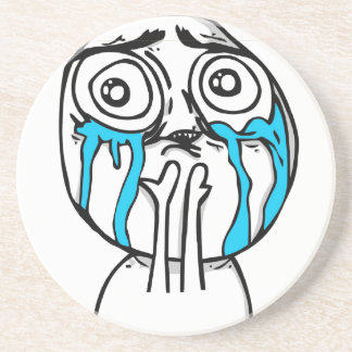 Cuteness Overload Comic Meme Coaster