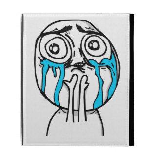 Cuteness Overload Comic Meme iPad Folio Cases