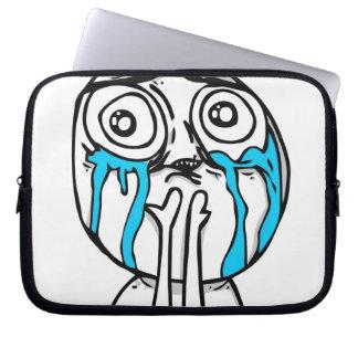 Cuteness Overload Comic Meme Laptop Computer Sleeves