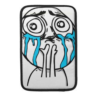 Cuteness Overload Comic Meme MacBook Air Sleeves