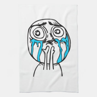 Cuteness Overload Comic Meme Towel