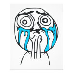 Cuteness Overload Cute Rage Face Meme Flyer