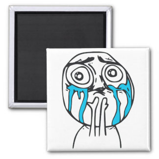 Cuteness Overload Cute Rage Face Meme Fridge Magnet