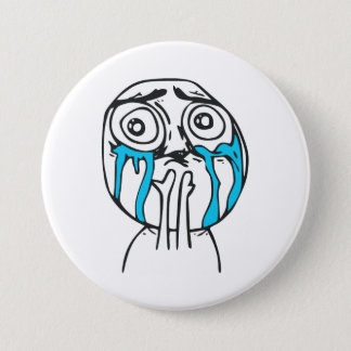 Cuteness Overload Cute Rage Face Meme Pinback Button