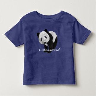 """Cuteness overload!"" with sweet panda Shirt"