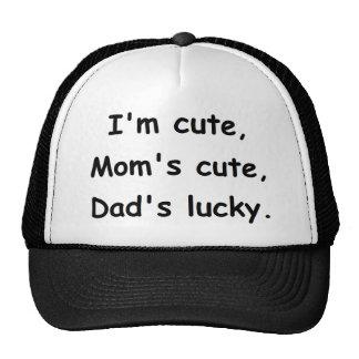 Cuteness rules! trucker hat