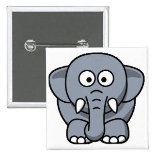 Cuter Elephant Button