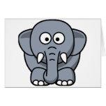 Cuter Elephant Card