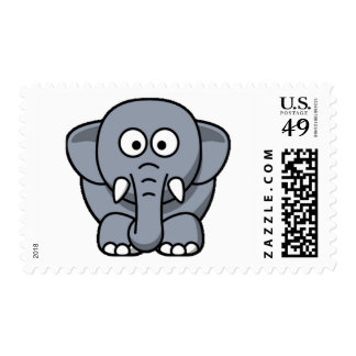 Cuter Elephant Stamps