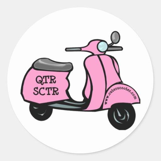 Cuter Scooter Sticker