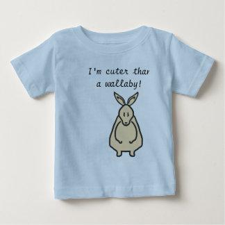 Cuter than a wallaby design baby T-Shirt