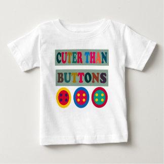 CUTER THAN BUTTONS BABY T-Shirt