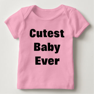 Cutest Baby Ever Long Sleeve Baby T-Shirt