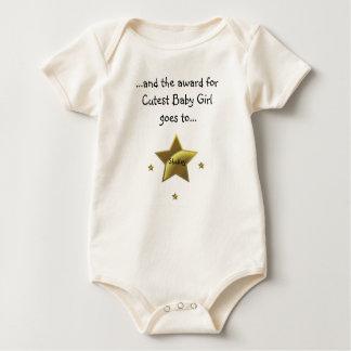 Cutest Baby Girl-Shelley Baby Bodysuit