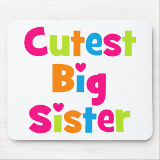 Cutest Big Sister Mouse Pad