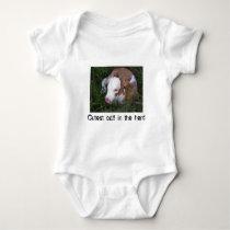Cutest Calf in the Herd Baby Bodysuit