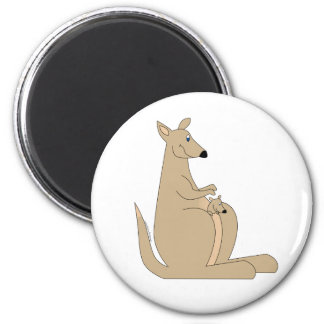 Cutest cartoon kangaroo with baby gifts and tees! magnet
