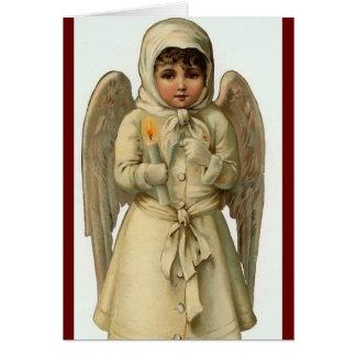 cutest christmas angel card