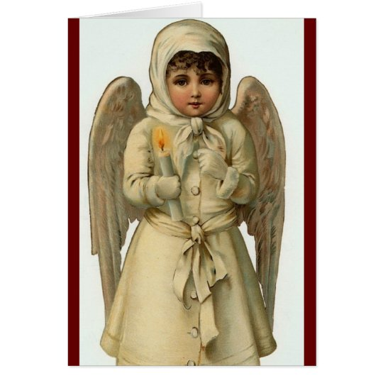 cutest christmas angel card