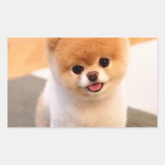 Cutest Dog in the world Rectangular Sticker