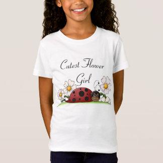 Cutest Flower Girl T-Shirt