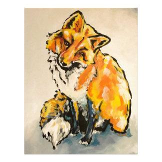 Cutest Fox Letterhead