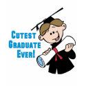 Cutest Graduate Boys shirt