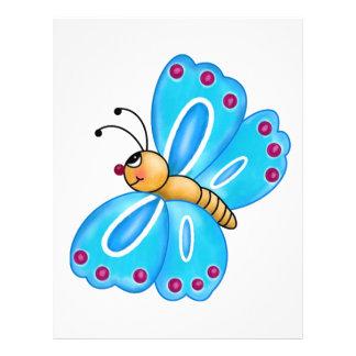 Cutest Little Butterfly Letterhead