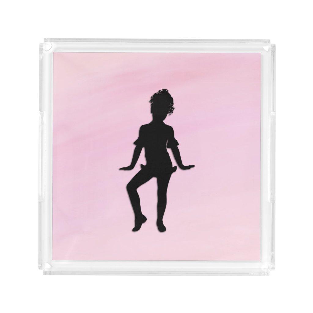 Cutest Little Dancer Acrylic Tray