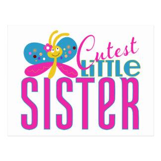 Cutest Little Sister - Butterfly Postcard