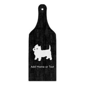 Cutest Little Westie Dog - Westhighland Terrier Cutting Board