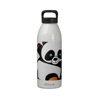 Cutest Panda ever Reusable Water Bottle