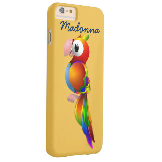 Cutest Parrot with text  iPhone 6 Case