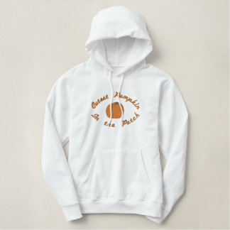 Cutest Pumpkin in the Patch Embroidered Hoodie