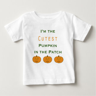 Cutest Pumpkin in the Patch Infant T-Shirt