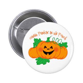 Cutest Punkin' Patch 2 Inch Round Button