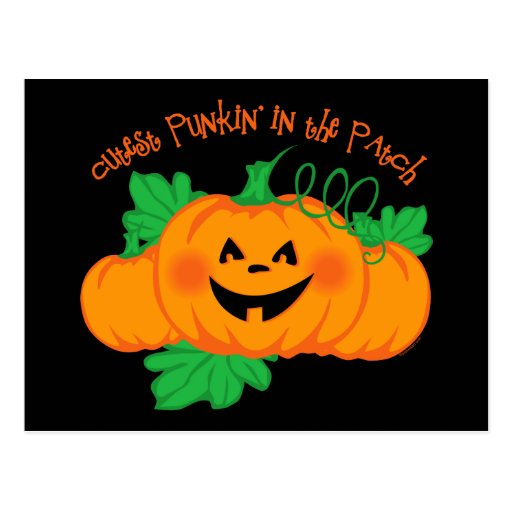 Cutest Punkin' Patch Post Cards