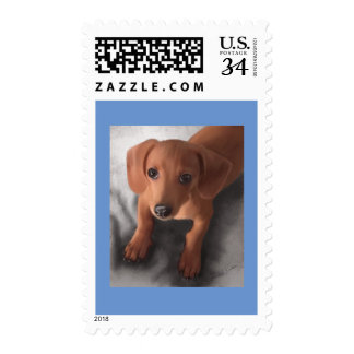 Cutest Pup Ever Postage Stamp