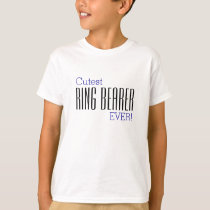 Cutest Ring Bearer EVER T-Shirt