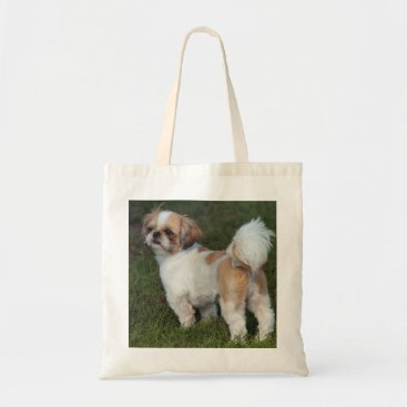 Cutest  Shih Tzu Tote Bag