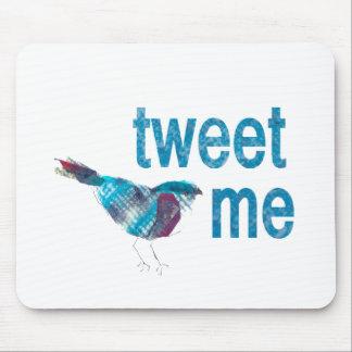 Cutest Twitter Blue Bird Mouse Pad
