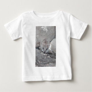 Cutest wallaby just staring at you and eating baby T-Shirt