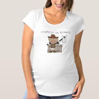 Cutest Western Baby Boy Cowboy Pony Maternity Maternity T-Shirt