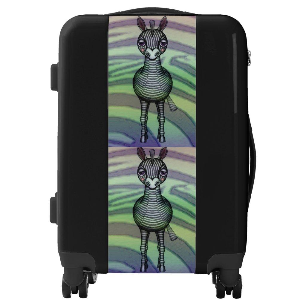 Zebras Suitcase