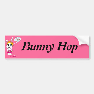 Cutesy Bunny™ Bumper Sticker