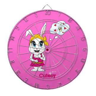 Cutesy Bunny™ Dartboard With Darts