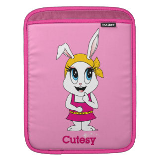 Cutesy Bunny™ iPad sleeve