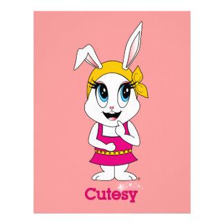 Cutesy Bunny™ Letterhead